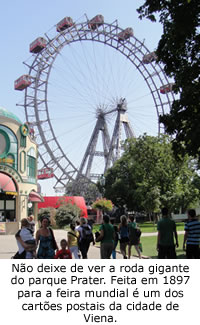 roda gigante do parque prater