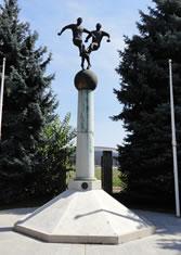 Monumento Estadio Puskas