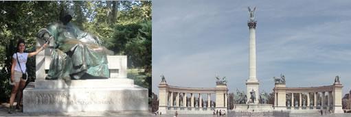 Anomymvs e Praça dos Herois Budapeste