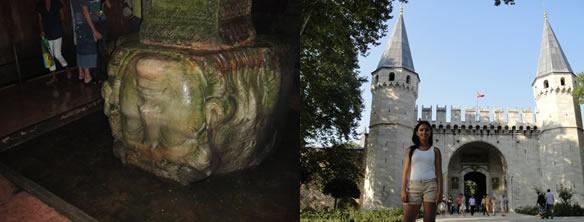 Cisterna da Basilica e Palácio Topkapi